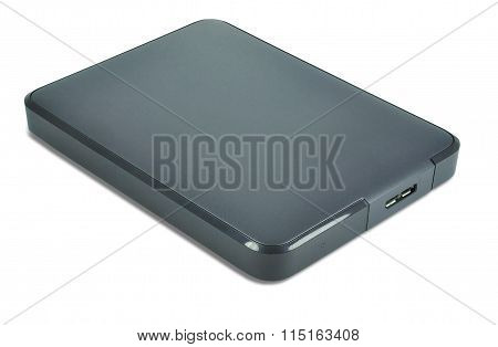 External Hard Drive isolated