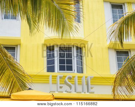 Leslie Hotel In Miami Beach