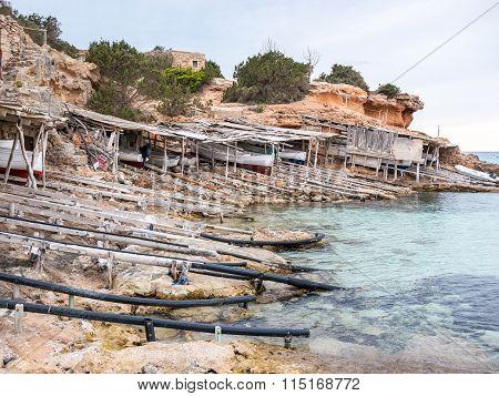 Fishermen Boat Houses