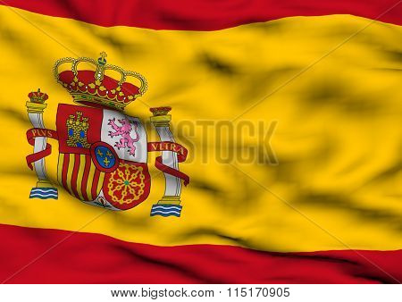 Image Of A Flag Of Spain