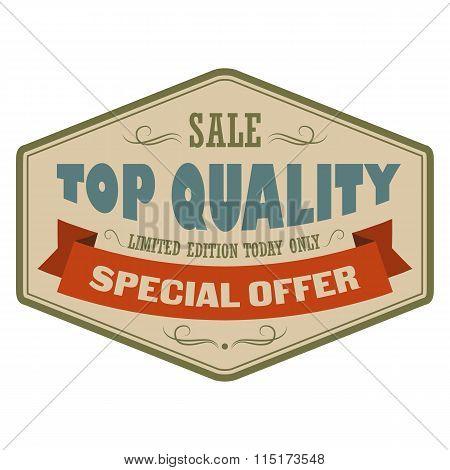 Top quality sale vintage banner