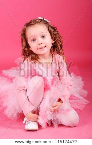 Kid girl dancer