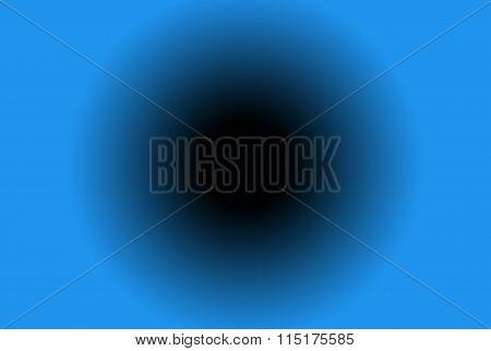 blackhole in blue background