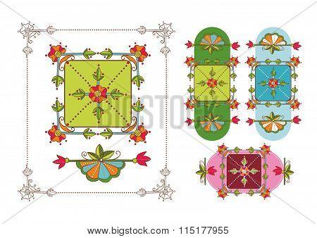 Decorative elements background