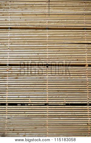 Wall Of Timber