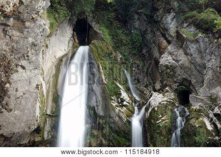 Risletenschlucht Waterfalls