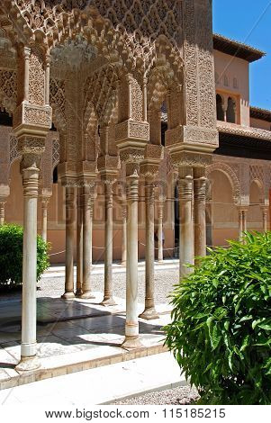 Court of the Lions, Alhambra Palace.