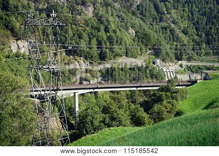 Highway And Power Line