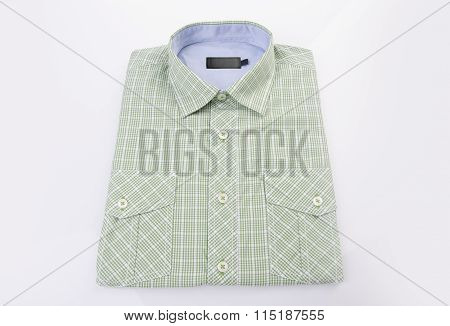 Dress Shirt On White Background