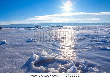 cold sunny  day
