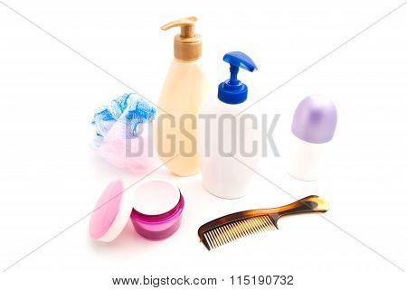 Gel, Cream, Wisp And Hairbrush