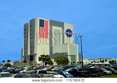 NASA Vehicle Assembly Building at Kennedy Space Center