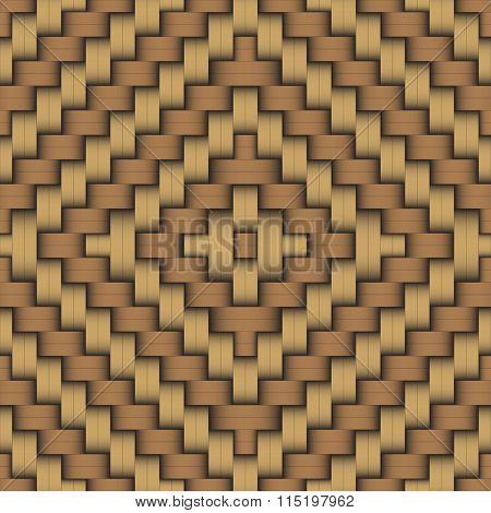 Woven Wood Pattern