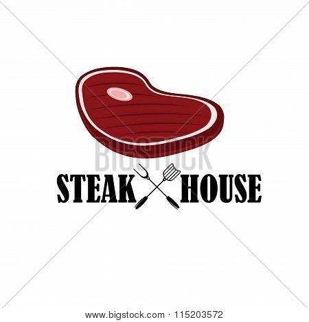 Steak House Illustration