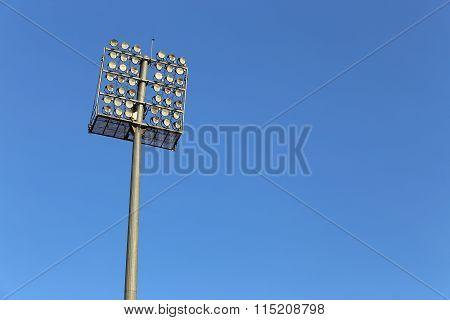 Sport Light In Football Stadium