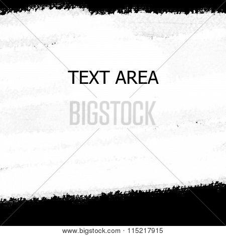 Abstract watercolor paint white space for messages