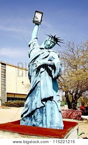 Parody Of The Statue Of Liberty