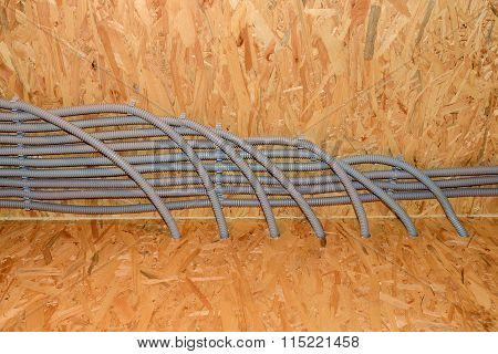 Corrugated Pipes Construction Wire