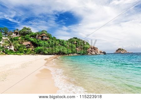Beautiful Beach On Koh Tao,