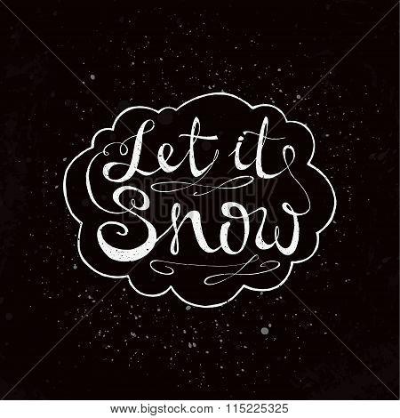 Handdrawn Lettering Design. Conceptual Handwritten Phrase.