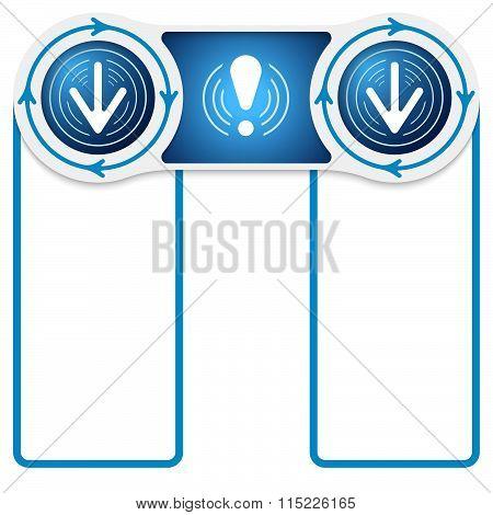 Circular Connected Boxes