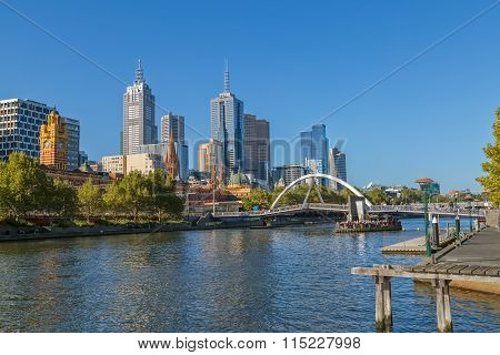 Melbourne sunny day