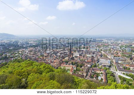 Aerial View Of Freiburg Im Breisgau, Germany