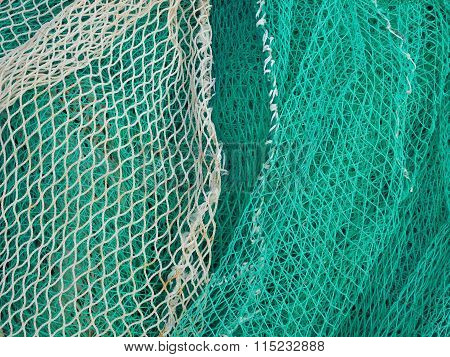 fishing net outdoor boat on the sea