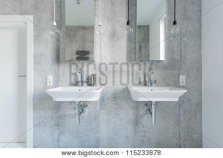 Two Expensive Washbasins