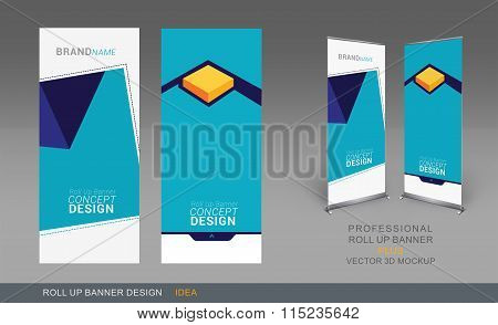 Professional Roll Up Concept 01