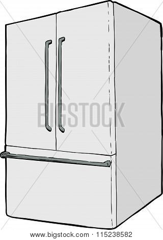 Large Single Closed Refrigerator