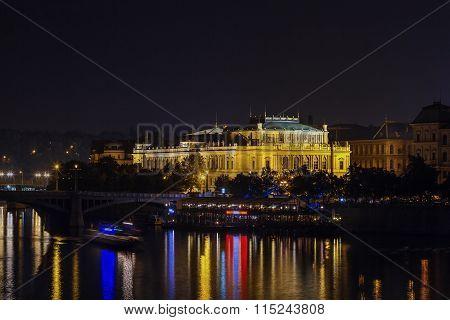 View Of Rudolfinum, Prague