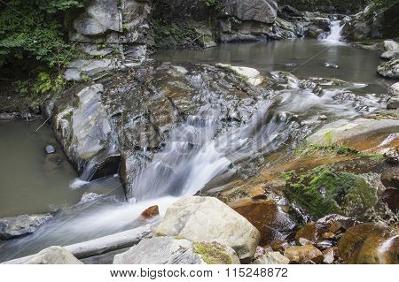 Waterfall On The Brook