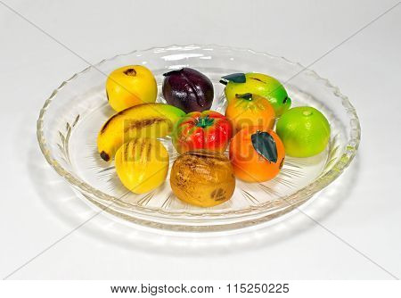 Marchpane On Crystal Plate
