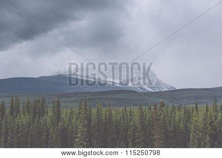landscape of banff national park, canada.