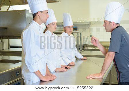 kitchen staffs