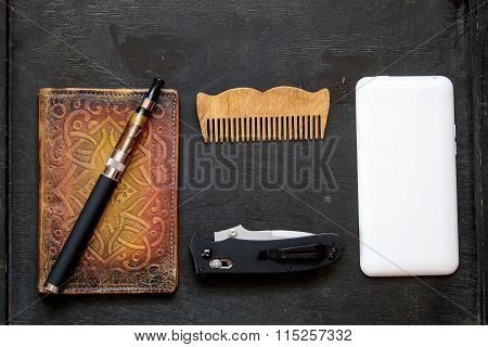 Set Of Accessories For Men