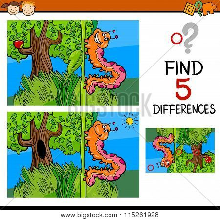 Preschool Differences Game