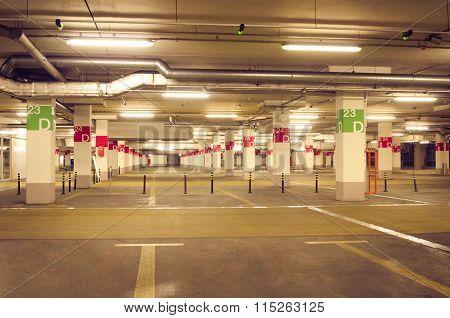 Underground Parking Vintage