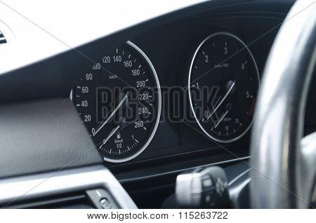 Diesel Car Dashboard