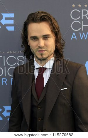 LOS ANGELES - JAN 17:  Jonathan Jackson at the 21st Annual Critics Choice Awards at the Barker Hanger on January 17, 2016 in Santa Monica, CA