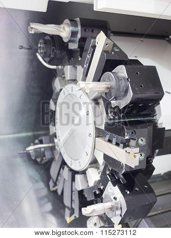 Operator Machining Automotive Part