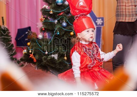 New Year's Morning In Kindergarten Editorial Reportage Lutsk 21.12.2015