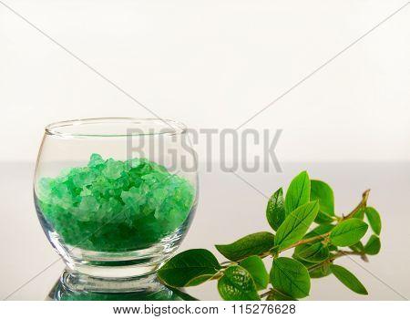 Bath Salt And Apple Branch