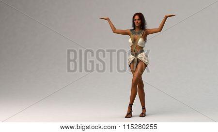 egypt dancer girl