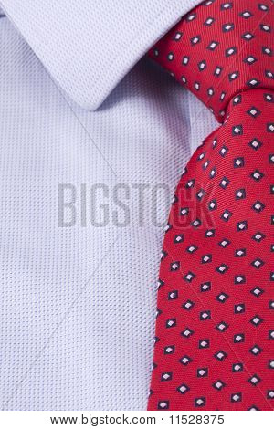 Business Power Tie In Red