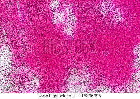 Pink Concrete Wall Texture