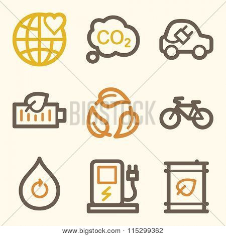 Ecology web icons