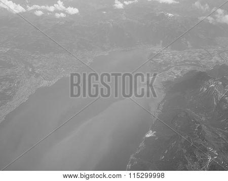 Black And White Bodensee Lake