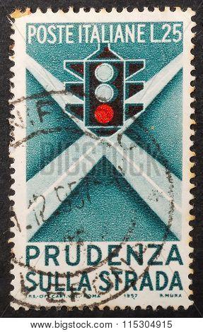 Old Postal Stamp